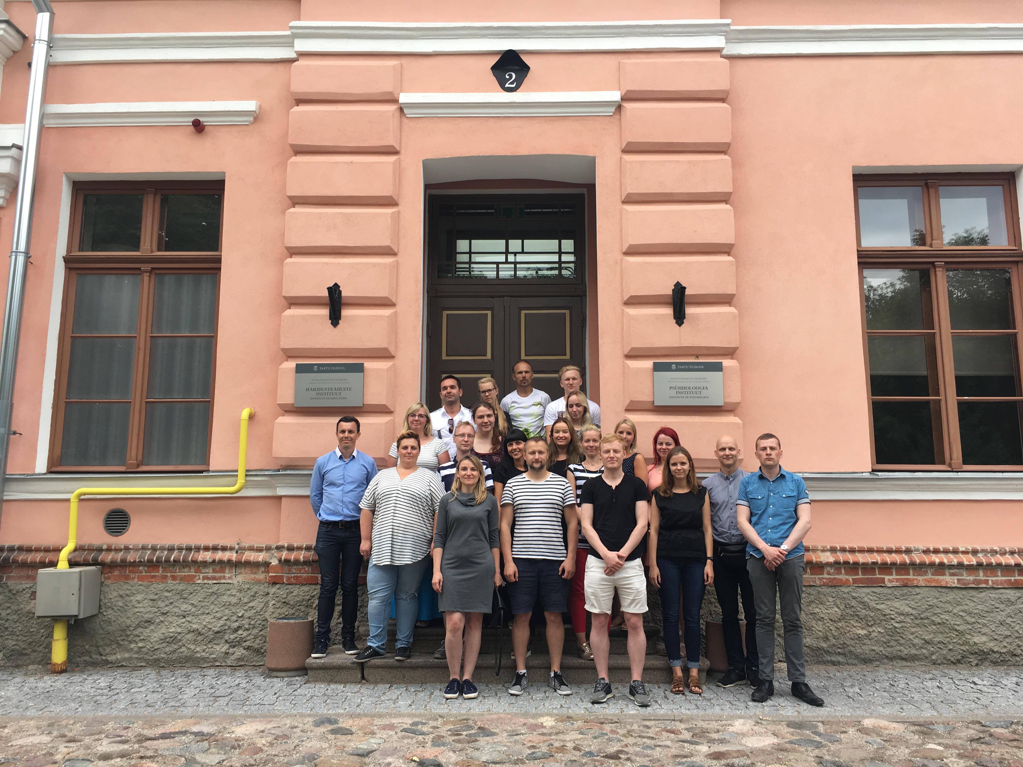 Toimus EKÜ Kõneravipäev Tartu Ülikooli logopeedia tudengitega